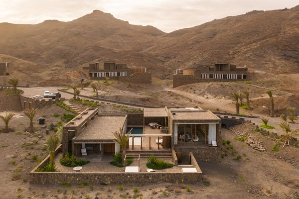 """The 12 homes are for-sale and rented throughout the year to tourists. When POLO Architects first become involved with the project, they wanted to make sure that the designs would be """"as viable and sustainable as possible,"""" POLO Architects Co-founder Patrick Lootens says."""