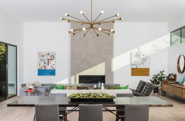 """""""When designing for a client or for a spec home, we design as if we were going to live there,"""" Frank Lin says. """"We look at what is comfortable for any kind of family to live in a space on a daily basis."""""""