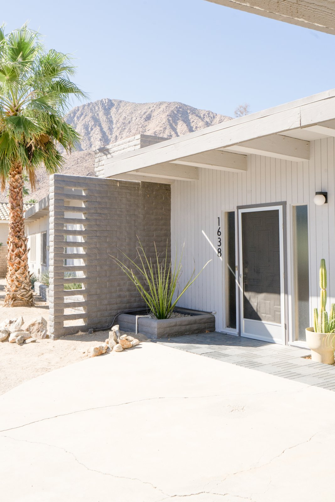 Borrego Springs midcentury renovation The Grove Collective exterior