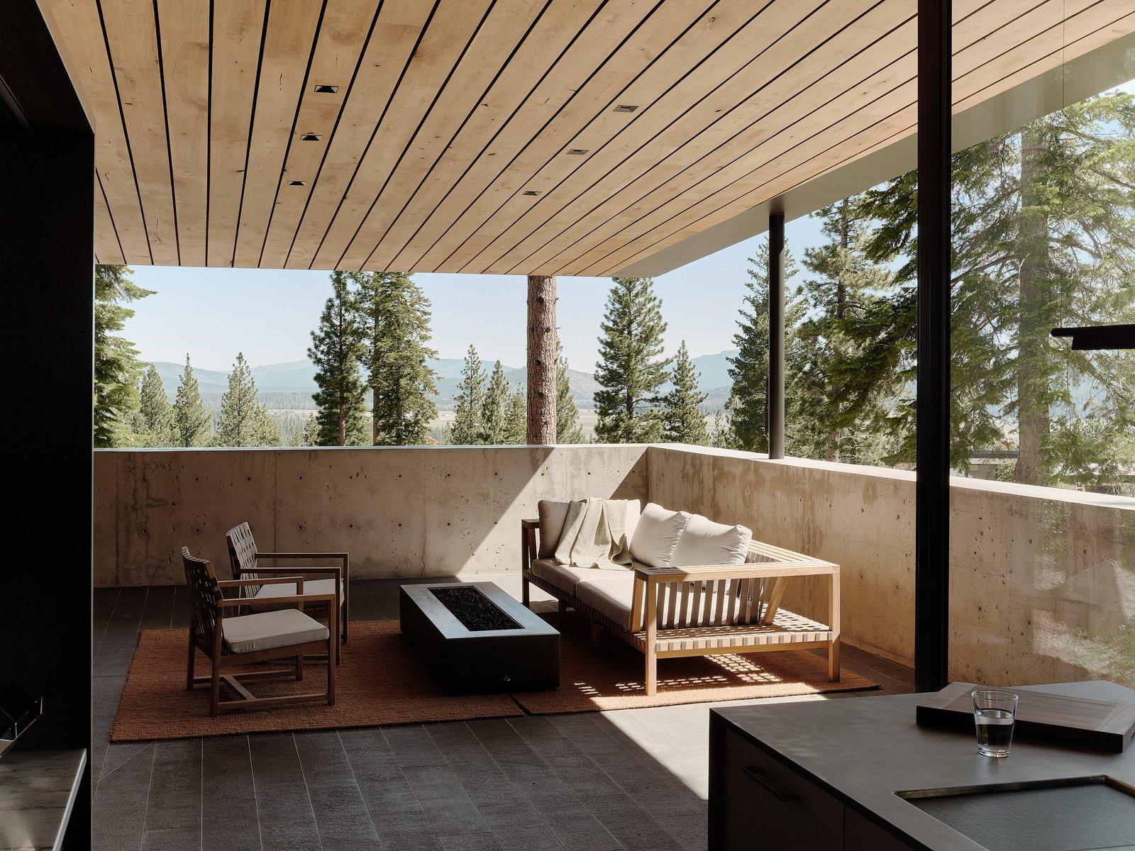 Lookout House terrace
