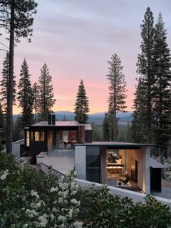The home is located in Martis Camp in Truckee, California, north of Lake Tahoe.