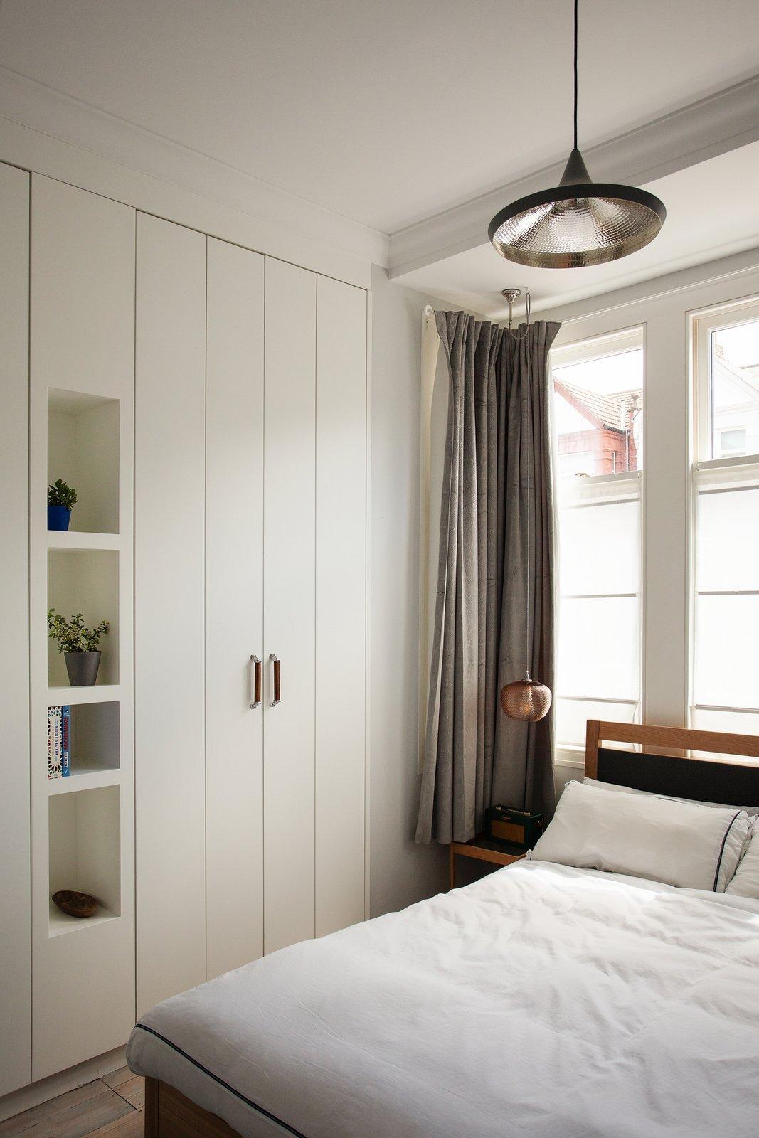 Charred Garden House bedroom