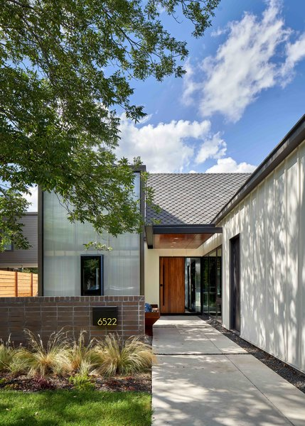 """Jim and Lori Louis's three-bed, two-bath home in East Dallas came to life because of a unique partnership between the couple and A. Gruppo Architects. """"They really listened to our goals, embraced our aesthetic, and honored our budget,"""" says Lori."""