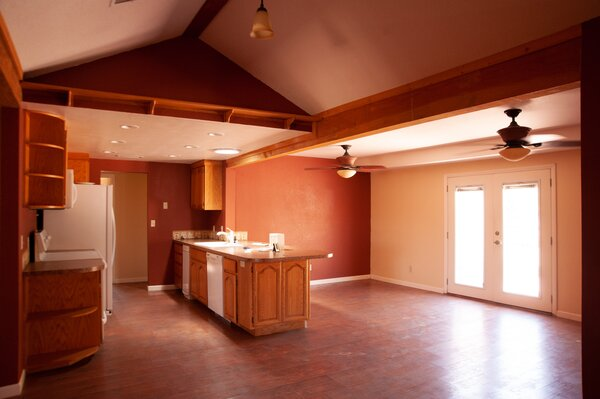 Before: The original home had good bones and great potential, but lacked finesse.