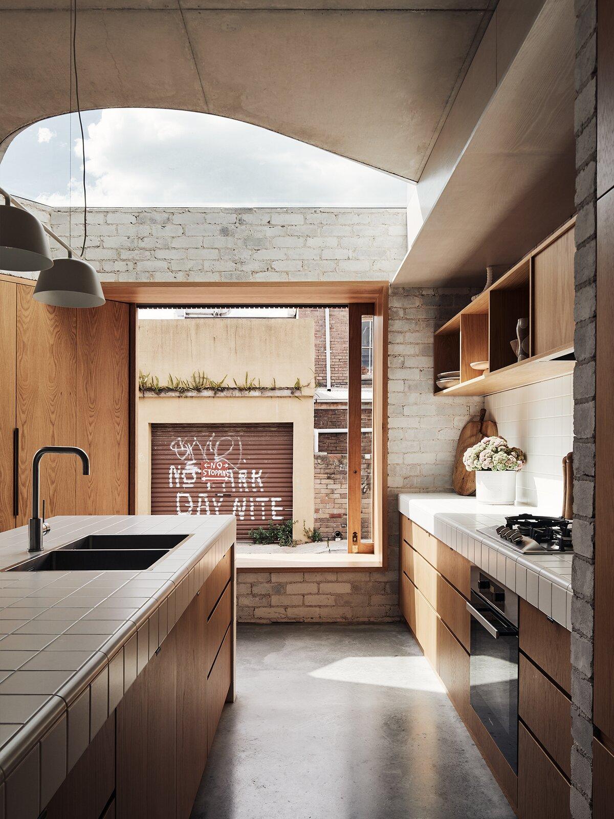 Bismarck House kitchen