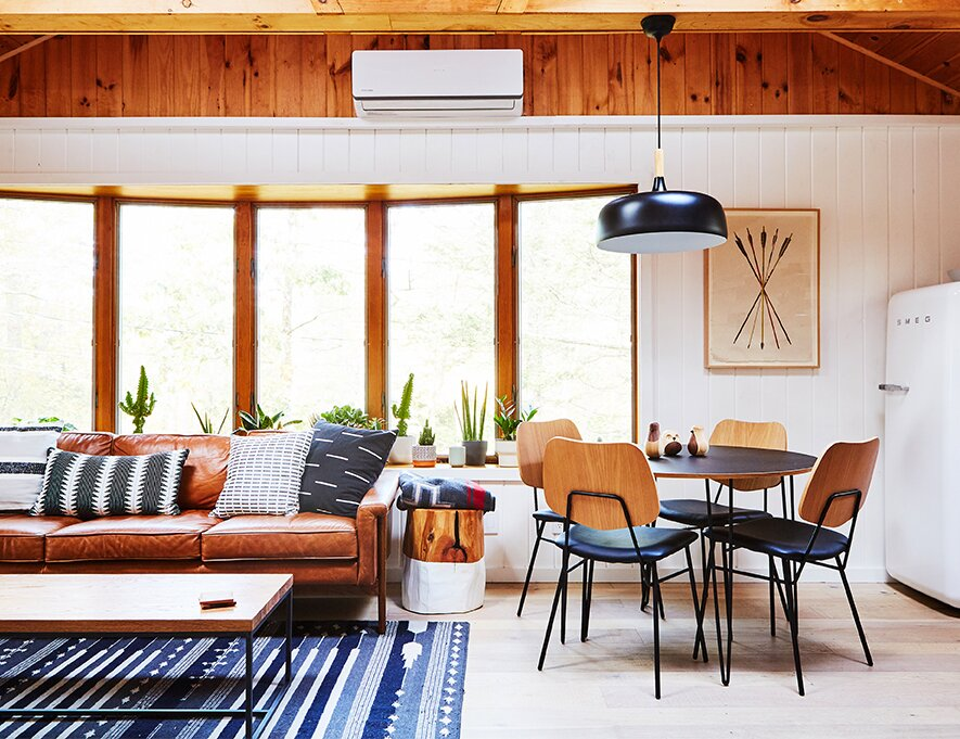 Highland Bungalow by Lauren Wesley Spear living room