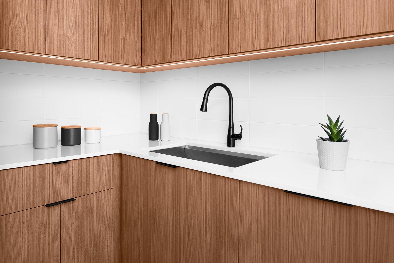Minimalist White Oak Kitchen Modern Home In Miami Florida By Perry On Dwell