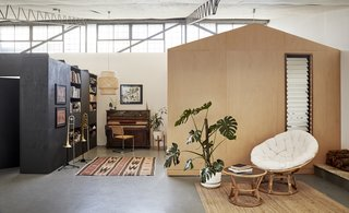 With Just $7K, a Creative Duo Transform a Melbourne Warehouse Into a Cheerful Home and Studio
