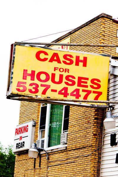 """""""Cash for Houses."""
