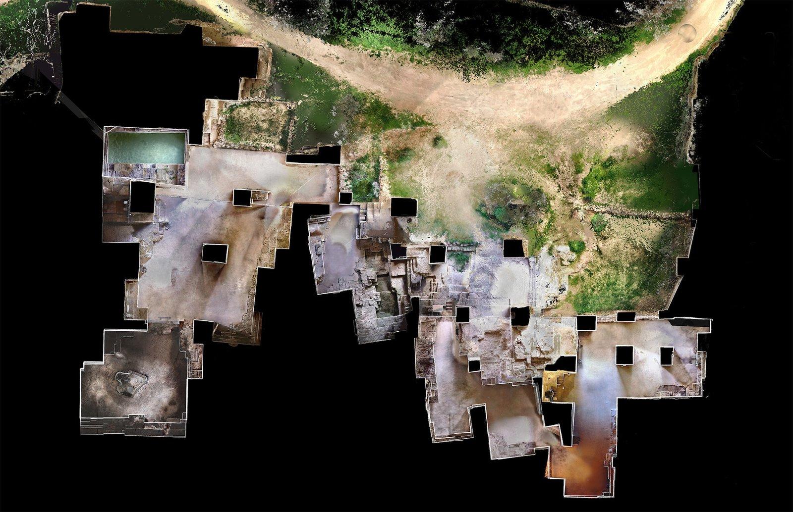Ca'n Terra aerial site plan