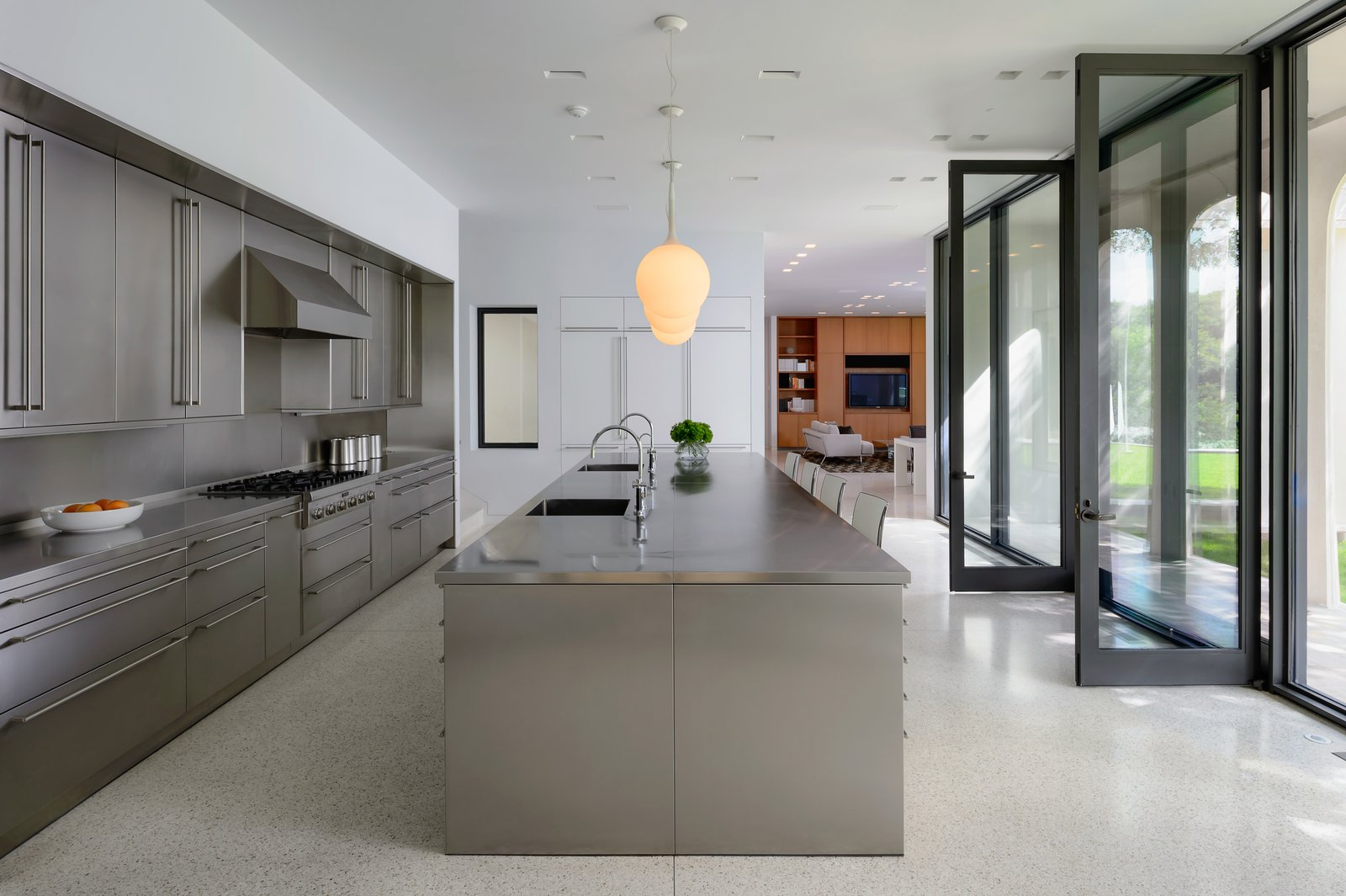 Philip Johnson Beck House kitchen