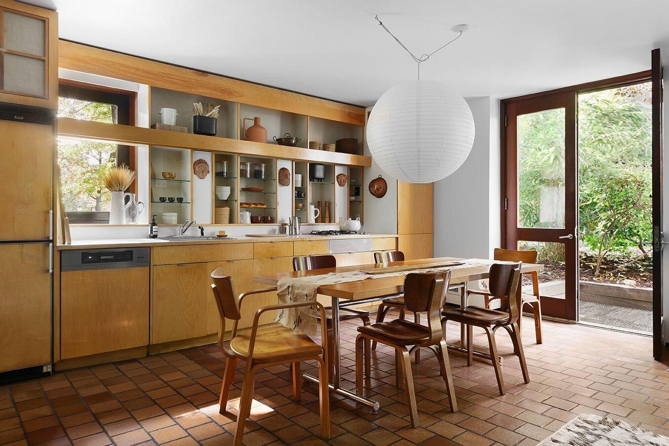 Joseph and Mary Merz Residence kitchen