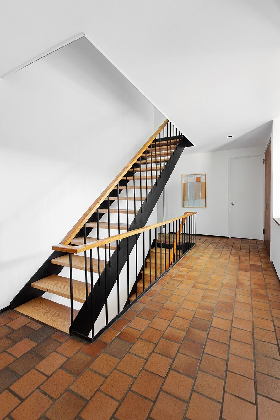 Joseph and Mary Merz Residence staircase