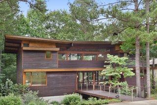 Exquisite Contemporary Estate on Grange Lake in Serenbe Community