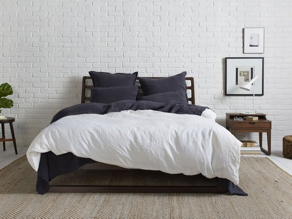 Parachute established itself as a contemporary home goods company with products like their linen bedding made of European flax.