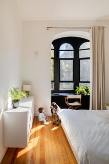 At 55 Monterrey, historic details like the bay window seen here are rolled into a space that feels very modern.