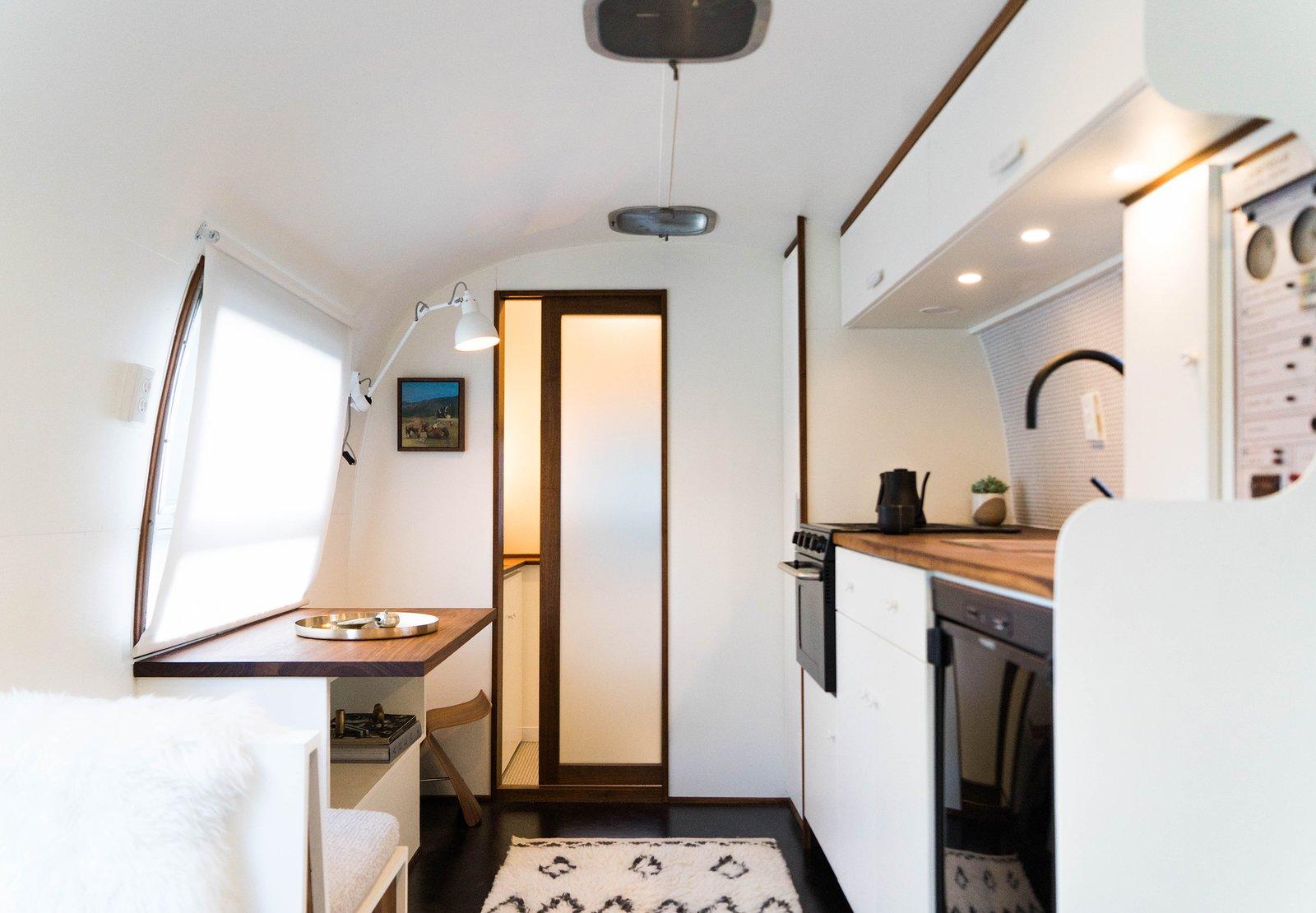 Airstream Haus kitchen