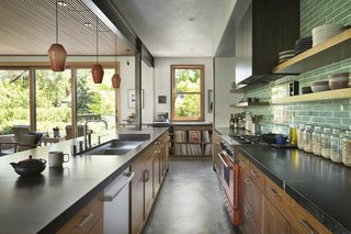 The kitchen is a hub in the Paluskas' home. John Paluska's restaurant Comal in Berkeley, California, celebrates handmade, regional Mexican food.
