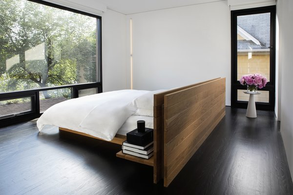 Best 60 Modern Bedroom Dark Hardwood Floors Design Photos