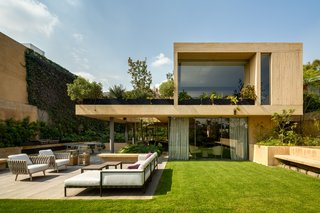 When clients approached Mexico City–based architecture firm Estudio MMX, they had a deceptively simple request: a 1,000-square-meter garden on a 1,000-square-meter plot in a neighborhood called Lomas de Chapultepec, west of Mexico City. The problem, of course, was that in addition to a 1,000-square-meter garden, they also wanted a house. Estudio MMX's solution was to use large terraces to create a garden in three dimensions that connects with the house at every possible opportunity.