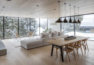 Floor-to-ceiling windows let in plenty of light and provide big views.