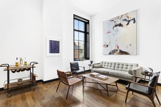 Expansive Pre-War Architecture Meets Stylish and Modern Living