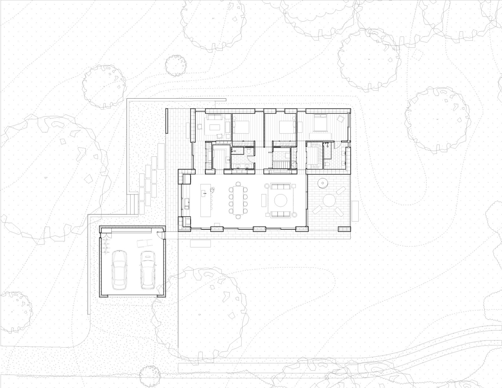 Sheffield residence by Vincent Appel / Of Possible floor plan