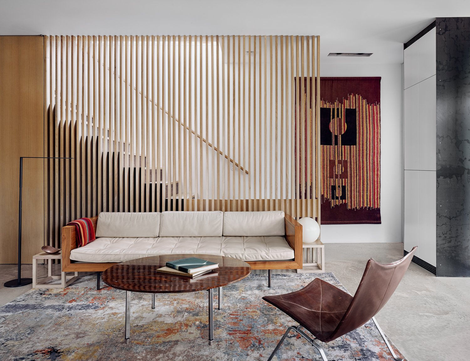 West Campus Residence Alterstudio Architecture living room