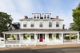 The 1830s mansion that is now Life House Nantucket was originally built by whaler Captain Robert Calder and opened as an inn in 1870.