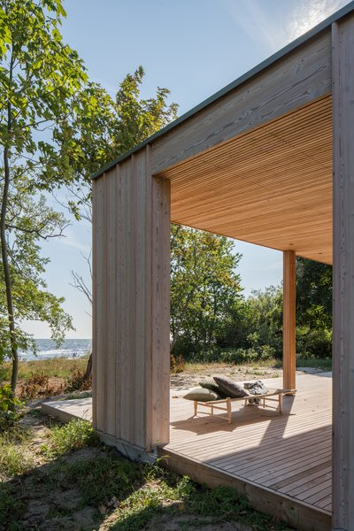 """Sundberg says the owners are very proud of the house, not only for its aesthetic, but also because of """"how it creates this distillation of the things they love about their place in Sweden, how wonderful it makes them feel. That sort of brings us right to the core of what we try to do always."""""""