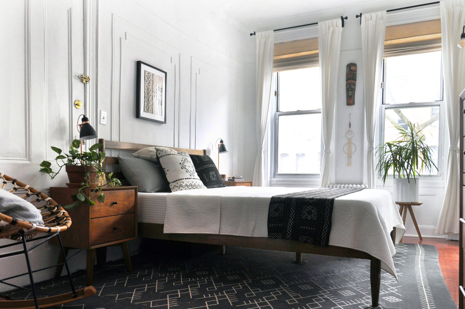 Queens rental apartment by Jordan Meerdink and Shalini Amin bedroom