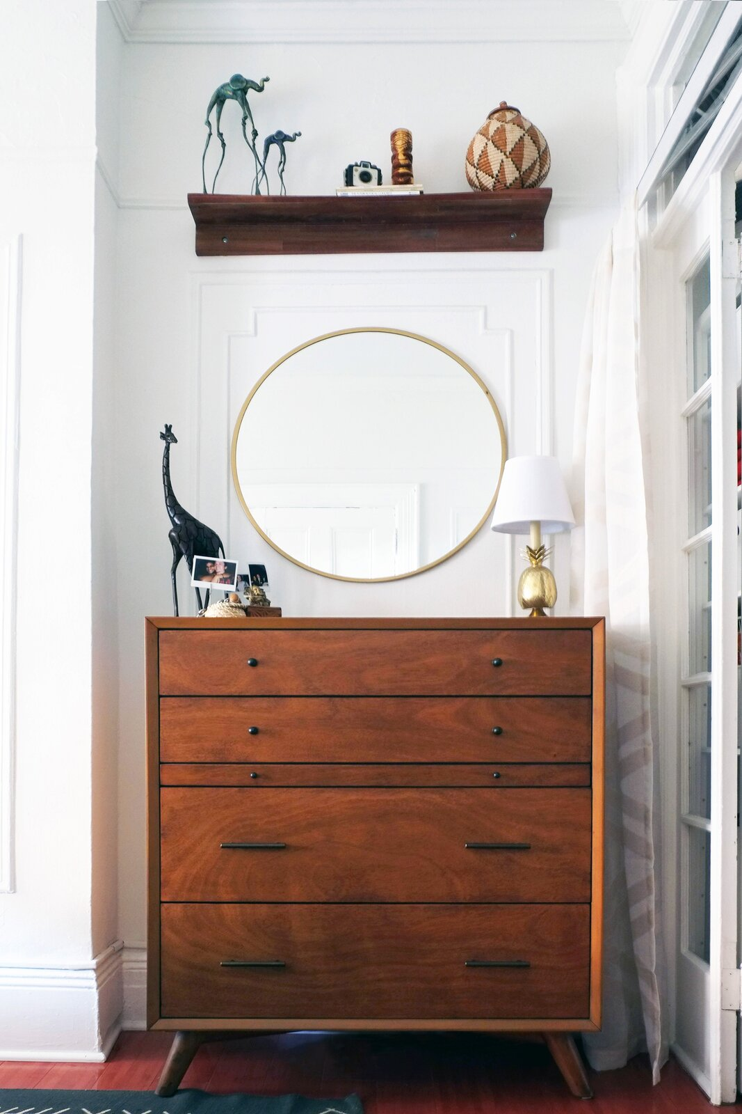 Queens rental apartment by Jordan Meerdink and Shalini Amin bedroom