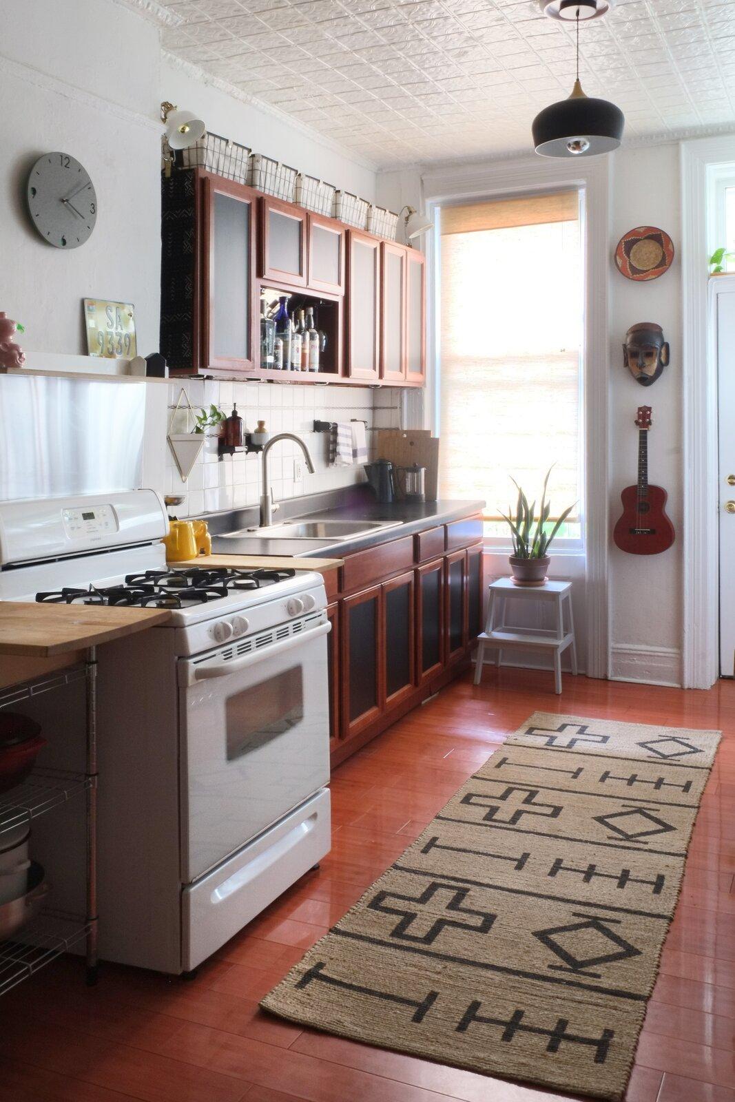 Queens rental apartment by Jordan Meerdink and Shalini Amin kitchen