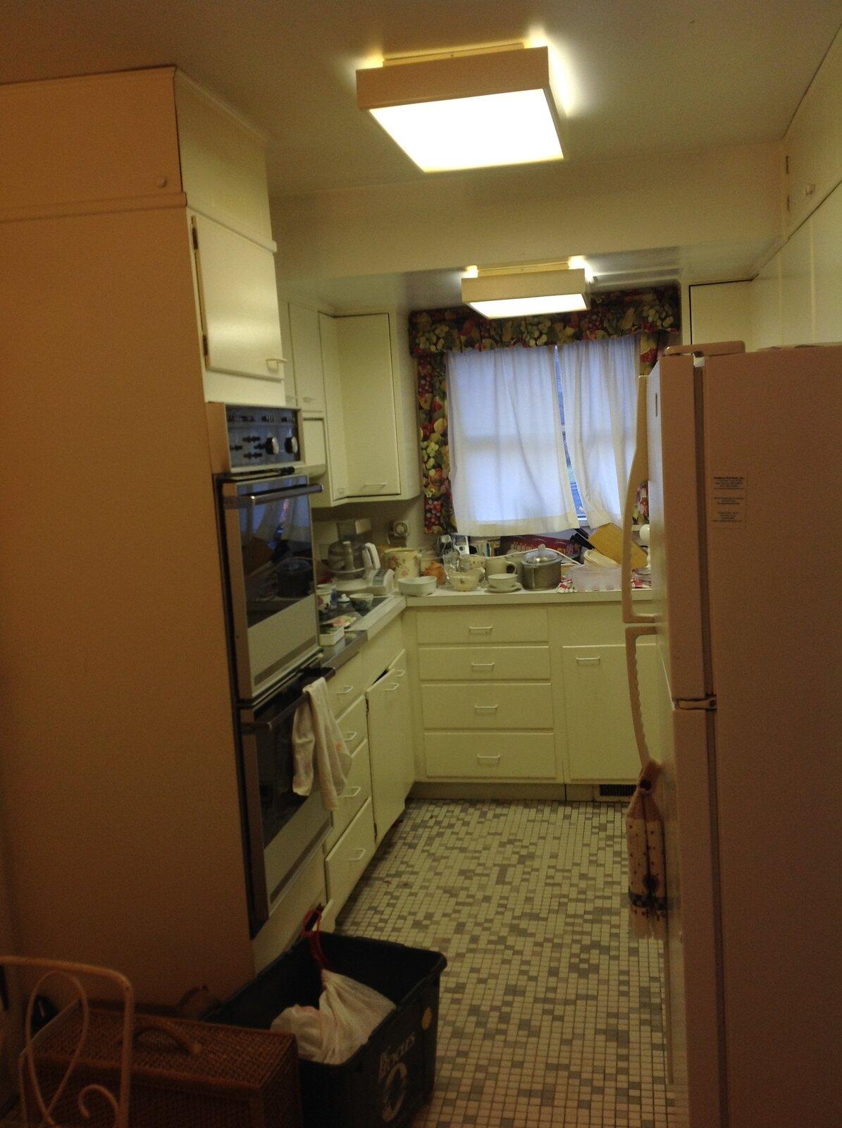 Before: Stephenson House kitchen