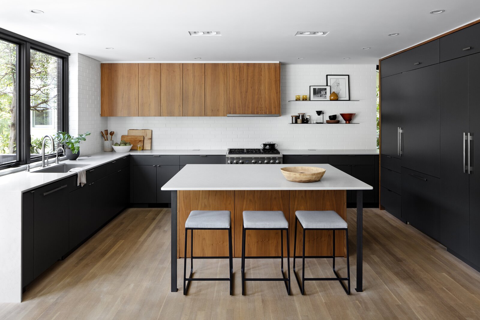 Stephenson House by Assembledge+ and Fowlkes Studio kitchen