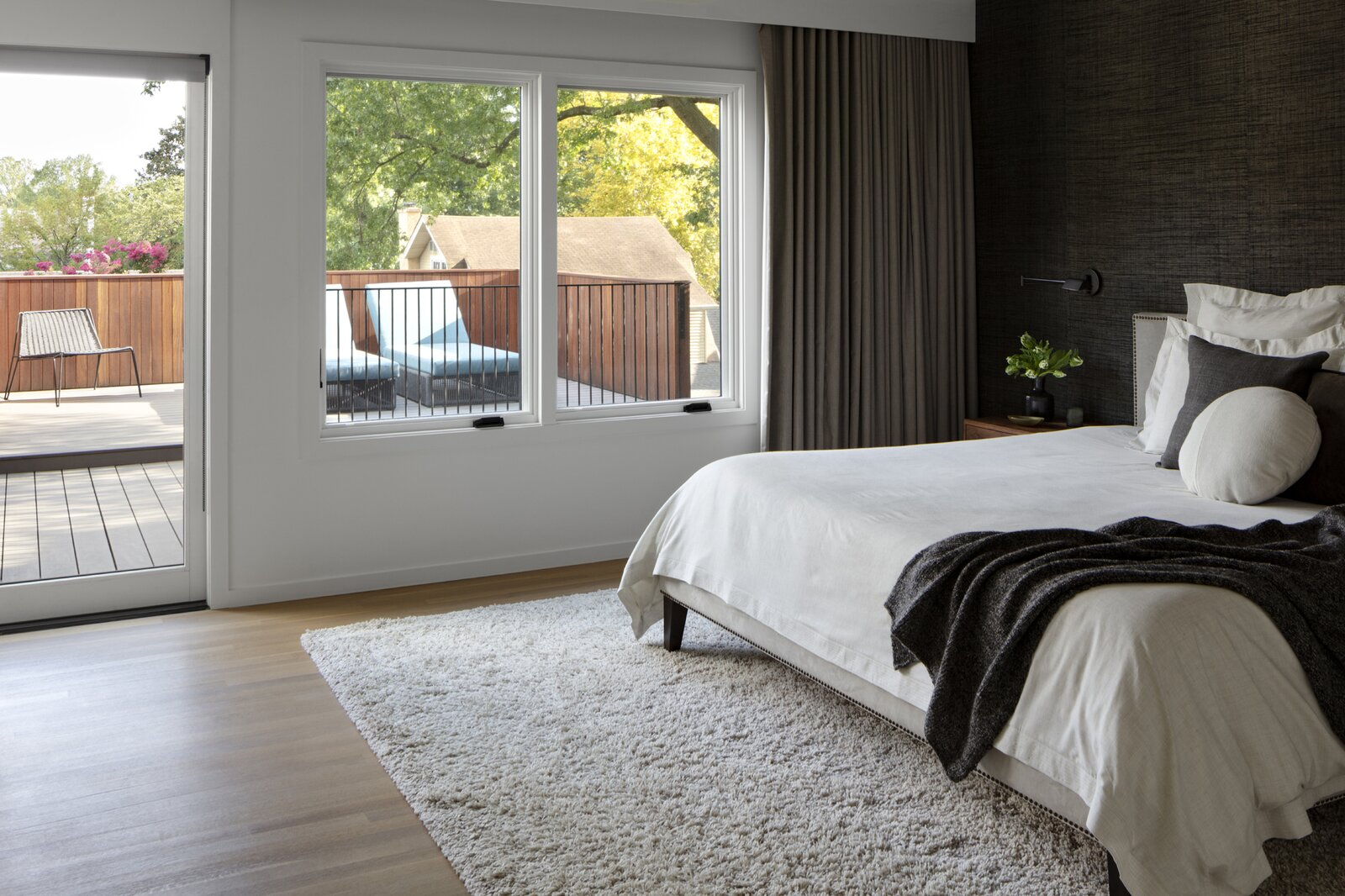 Stephenson House by Assembledge+ and Fowlkes Studio main bedroom