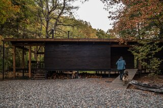 A Remote Chilean Cabin Appears to Float Above the Forest Floor