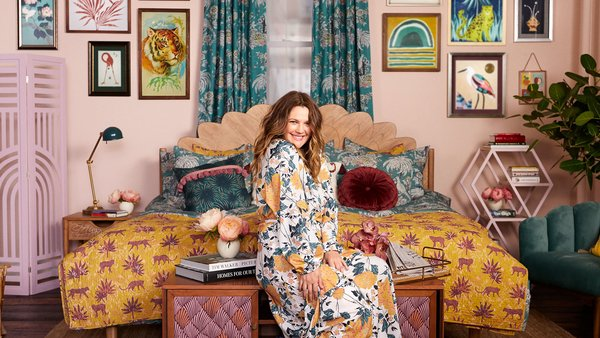 Drew Barrymore launches the fall collection of Drew Barrymore Flower Home.