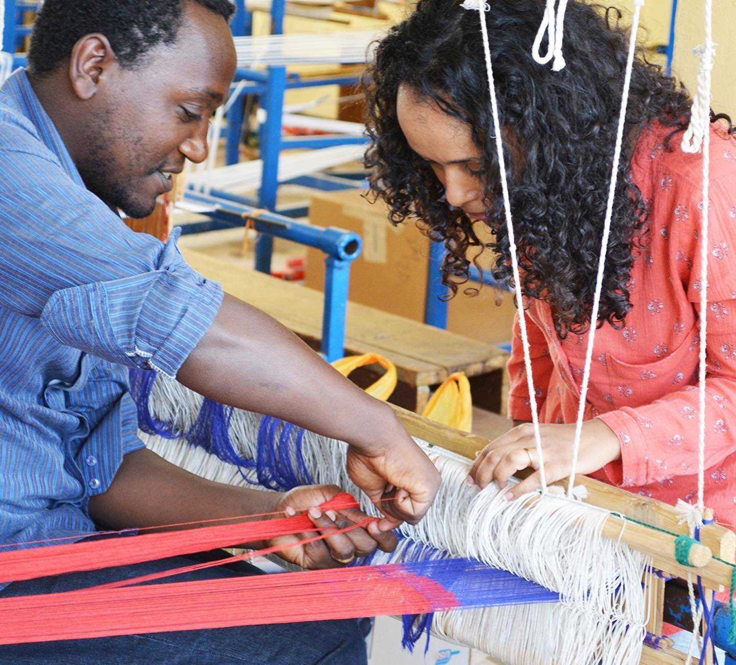 Hana Getachew takes her design drawings and sends them to her artisan partners in Ethiopia to help her bring vision to life.   Photo 8 of 20 in Black-Owned Design Businesses You Can Support Right Now