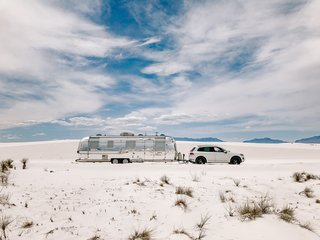 Having never renovated an Airstream before, Tristan and Lynne Knowlton took to the challenge with plenty of gusto (and elbow grease).
