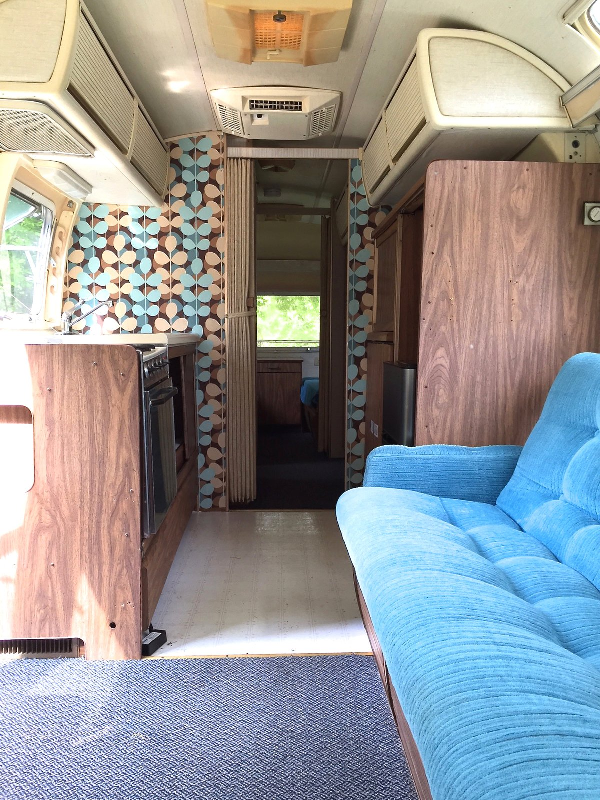 Before: 1976 Airstream Renovation by Lynne Knowlton interior