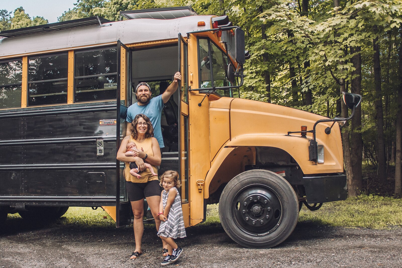 Budget Breakdown: A Growing Family Upgrades From a Sprinter Van to a Skoolie Built for $26K