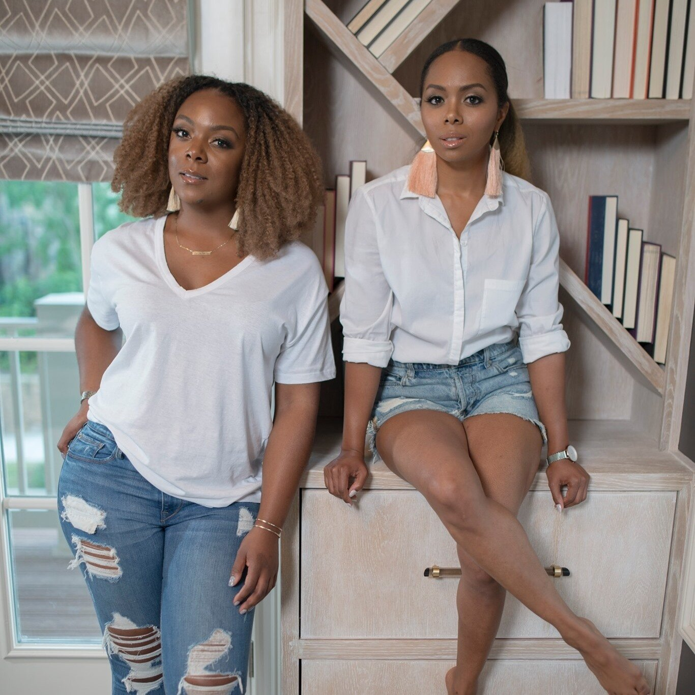 Founded by Monet Masters (left) and Tavia Forbes (right), Forbes Masters is a full-service interior design firm based out of Atlanta, Georgia.  Photo 1 of 10 in 10 Designers and Architects Share What They're Most Thankful for in a Turbulent Year
