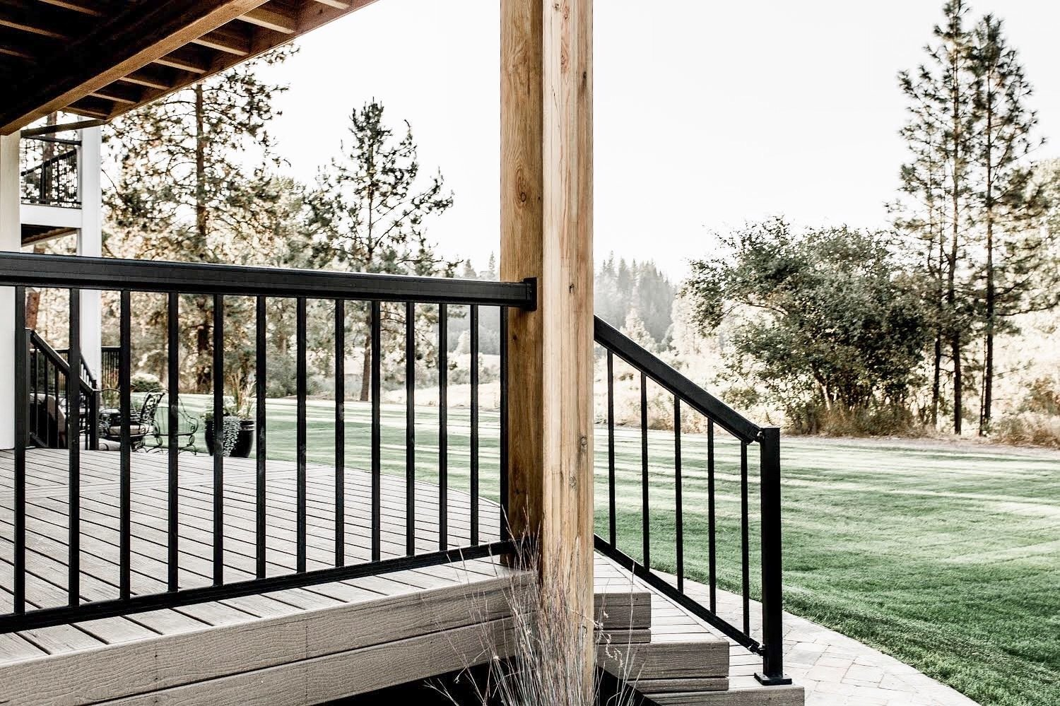 Exterior and House Building Type Back Deck  Hole in One