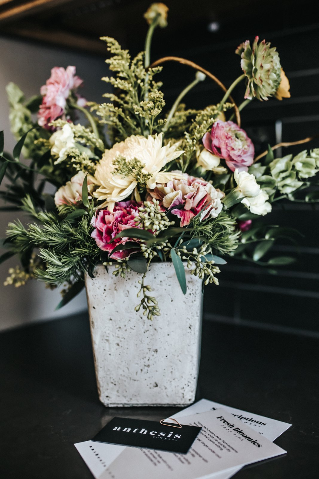 Kitchen Florals by Anthesis Co  FLW Fan