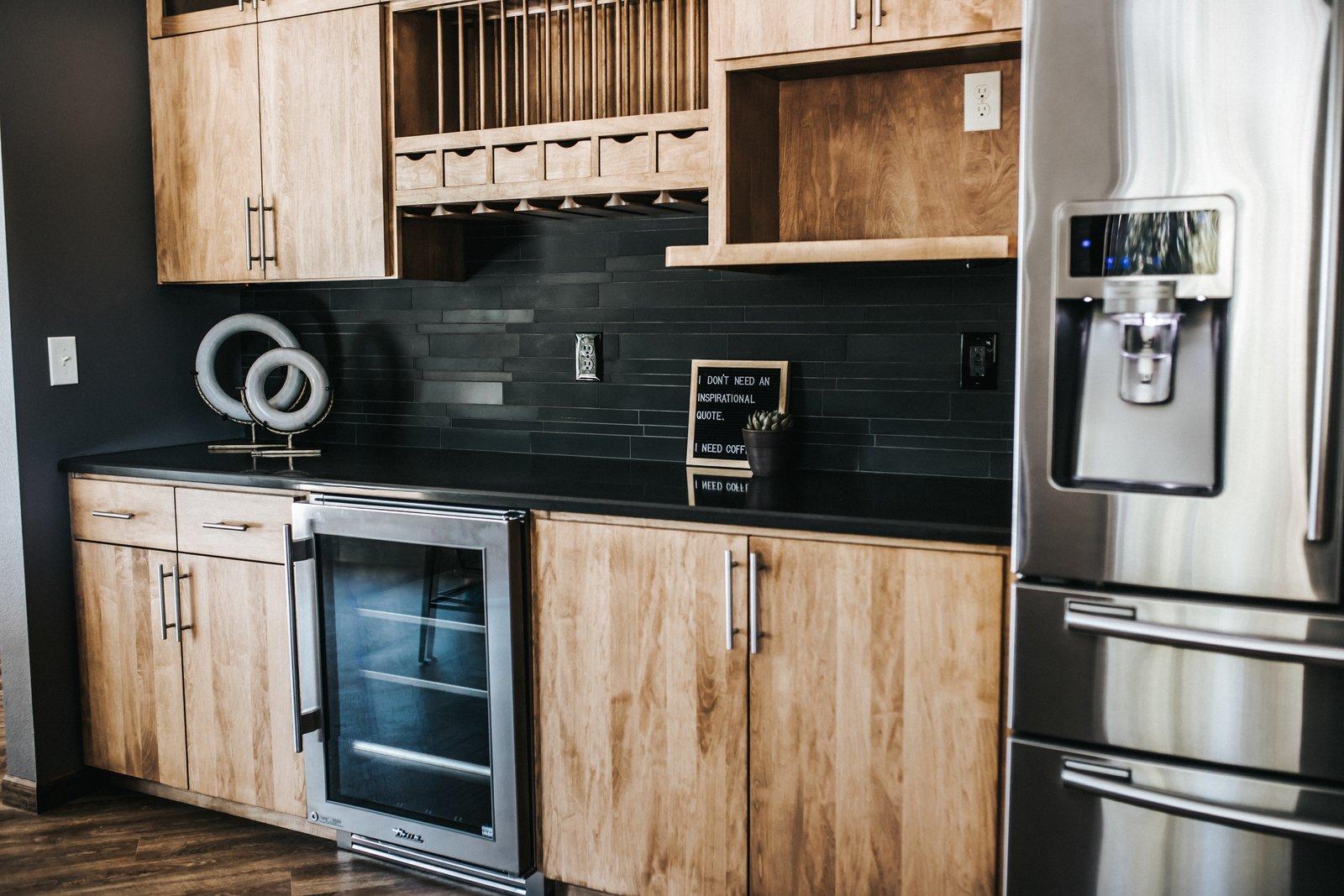 Kitchen Custom Cabinets  FLW Fan