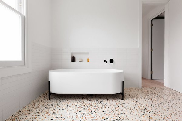 Best 42 Modern Bathroom Terrazzo Floors Design Photos And