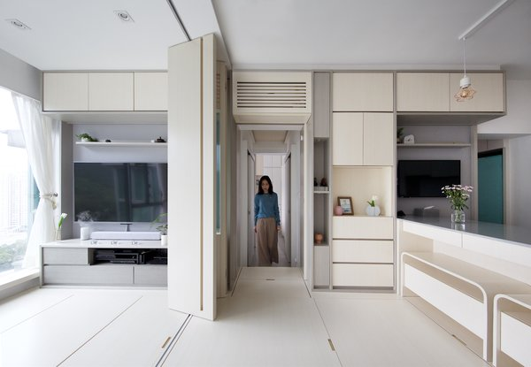 This Shape-Shifting Pad in Hong Kong Challenges What You Think of Smart Homes