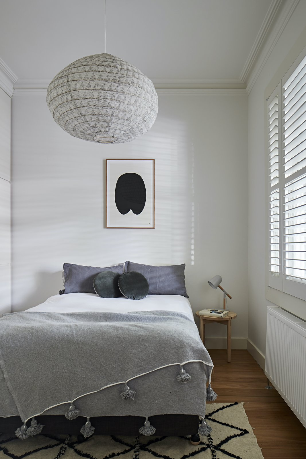 Ground floor bedroom at Charles St by Lande Architects.