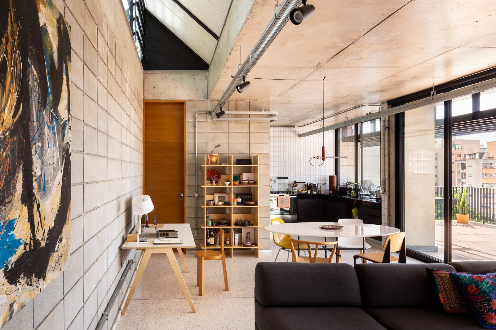 Casa Comiteco by Marcos Franchini and Nattalia Bom Conselho living room